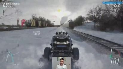 Forza Horizon 4 - nagranie z livestreamu