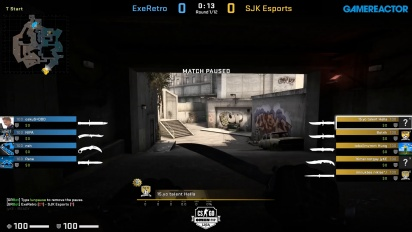 OMEN by HP Liga - Div 1 Round 4 - ExeRetro vs SJK Esports - Overpass.
