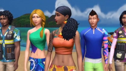 The Sims 4: Island Living - Official Reveal Trailer