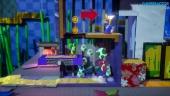 Yoshi's Crafted World - Ninja Level Co-op Gameplay