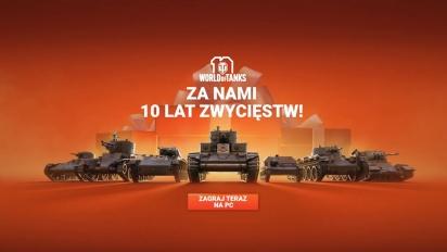 Dziękujemy czołgistom za 10 lat zwycięstw!