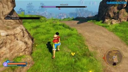 One Piece World Seeker - Gamescom Gameplay
