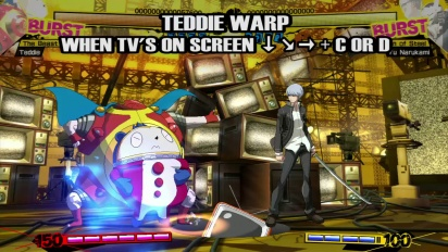 Persona 4 Arena - Teddie Moves Trailer