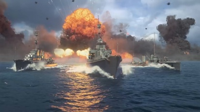 World of Warships: Legends - Console Trailer