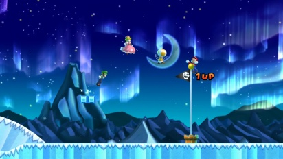 New Super Mario Bros. U Deluxe - Live-action + Gameplay Trailer