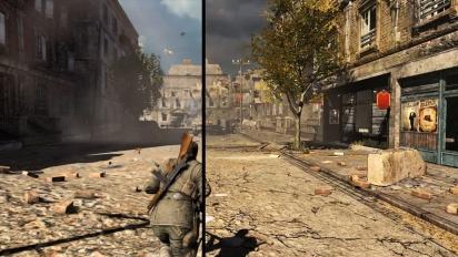 Sniper Elite V2 Remastered - Comparison Trailer