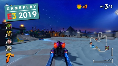 Crash Team Racing Nitro-Fueled - Jungle Boogie & Twilight Tour Gameplay