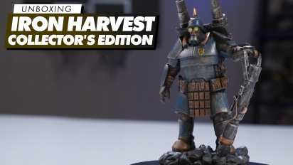 Iron Harvest Collector's Edition - Unboxing