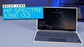 HP Spectre X360 13.3 - Quicklook