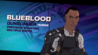 XCOM: Chimera Squad - Agent Profiles: Blueblood