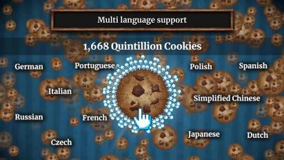 Cookie Clicker - Steam Trailer