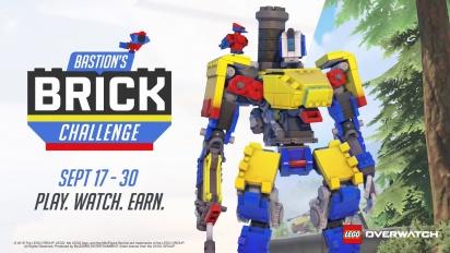 Overwatch - Bastion's Brick Challenge