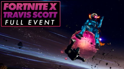 Fortnite X Travis Scott - Full Event