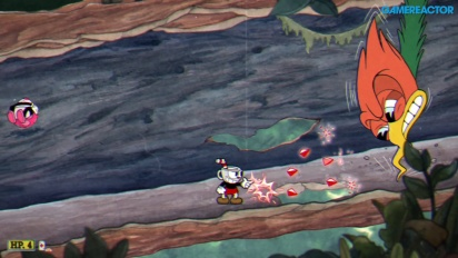 Cuphead - Treetop Trouble Nintendo Switch Gameplay