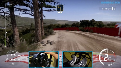 WRC 9 - New Rally de Portugal Stage Gameplay on the Toyota GR Yaris Rally Concept