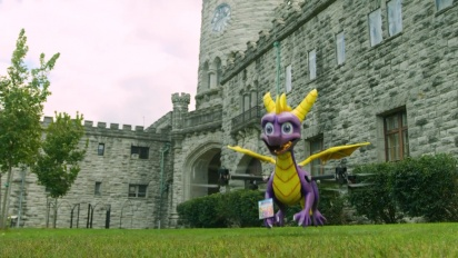 Spyro at Stone Hill Castle | Spyro Reignited Trilogy
