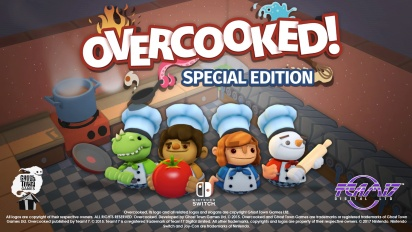 Overcooked - Special Edition Launch Trailer