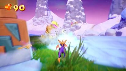 Spyro Reignited Trilogy - Frozen Altars Gameplay