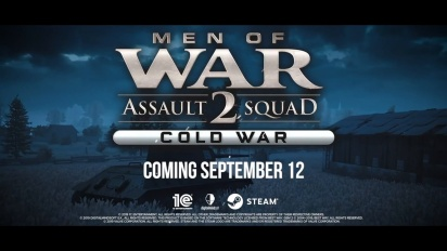 Men of War: Assault Squad 2 - Cold War - Announcement Trailer