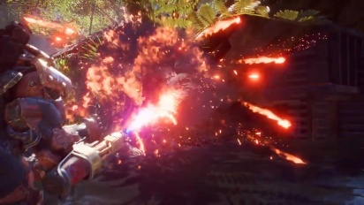 Anthem - Colossus Javelin Abilities and Gameplay