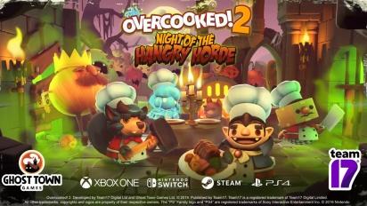 Overcooked 2 - Night of the Hangry Horde DLC