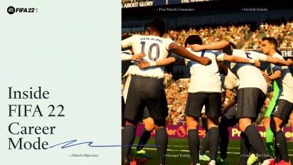 FIFA 22 - Official Career Mode Trailer