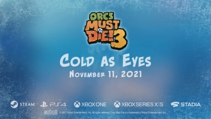 Orcs Must Die! 3 - Cold As Eyes DLC Announcement Trailer