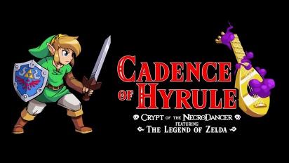 Cadence of Hyrule: Crypt of the NecroDancer Ft. The Legend of Zelda Gameplay - Nintendo Minute