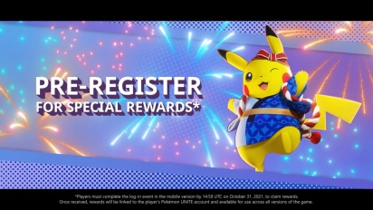 Pokémon Unite - Mobile Release Date Trailer