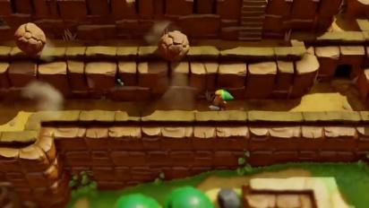 The Legend of Zelda: Link's Awakening - Nintendo Switch Gameplay