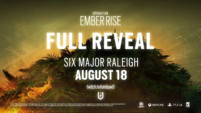 Rainbow Six Siege: Operation Ember Rise Operator's Gadgets Teaser