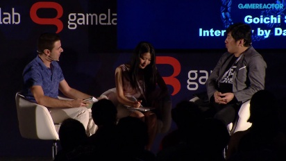 Suda51: Grass-Hopping from Punk to Business - Full Gamelab 2015 Panel