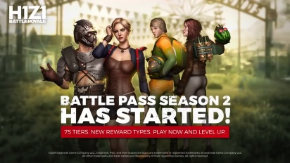 H1Z1: Battle Royale - Battle Pass Season 2
