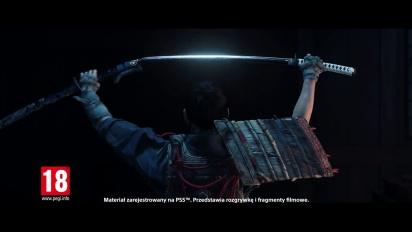 Ghost of Tsushima Director's Cut - zwiastun premierowy