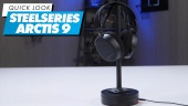 SteelSeries Arctis 9 - Quick Look