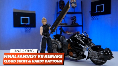 Play Arts Kai - Cloud Strife & Hardy Daytona Unboxing