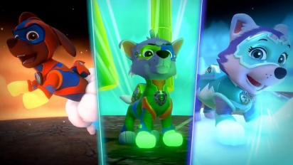 Paw Patrol Mighty Pups - Launch Trailer