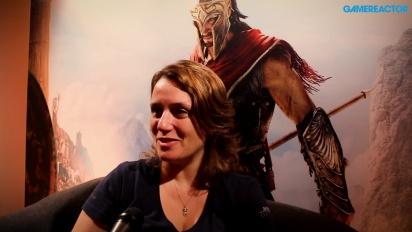 Assassin's Creed Odyssey - wywiad z Lydią Andrew