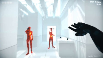 Superhot - Mind Control Delete Reveal Trailer