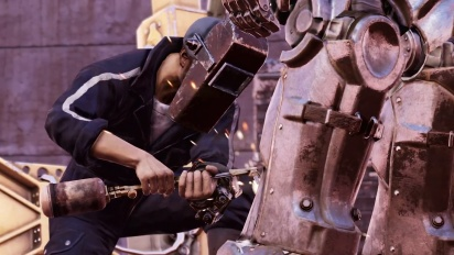 Fallout 76 - Steel Dawn Reveal Trailer ''Rahmani, Shin, and Valdez''