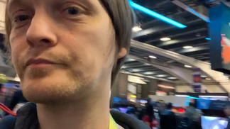 GDC 19: Llama riding in the Epic booth